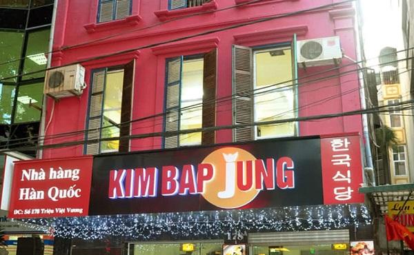 Kimbap Jung – Quán ăn Hàn Quốc 178 Triệu Việt Vương
