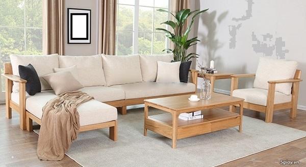 Nội thất sofa gỗ Kim Anh Sài Gòn