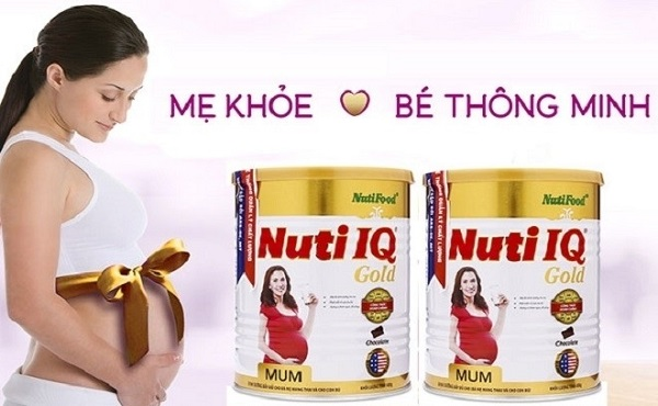Sữa bột Nuti IQ Mum Gold