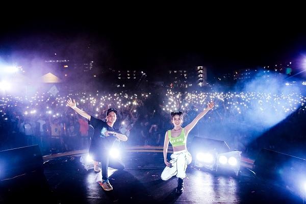 DJ Mie trong một đêm diễn