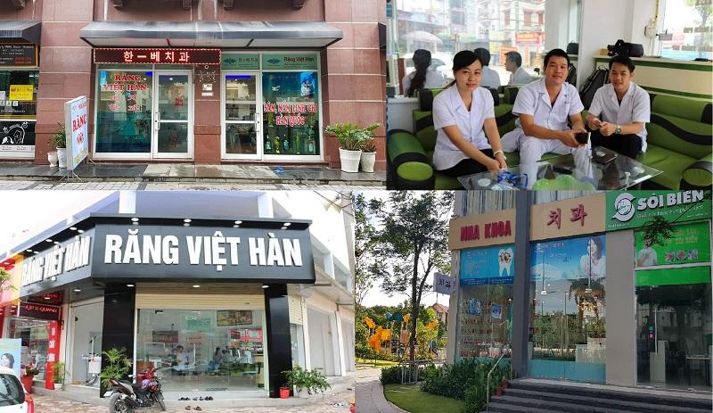Hệ thống phòng khám nha khoa Răng Việt Hàn