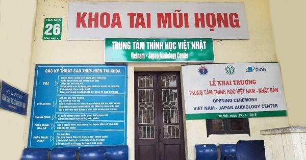 Khoa Tai Mũi Họng - Bệnh viện Bạch Mai