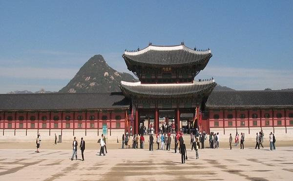 Chuỗi cung điện ở Seoul