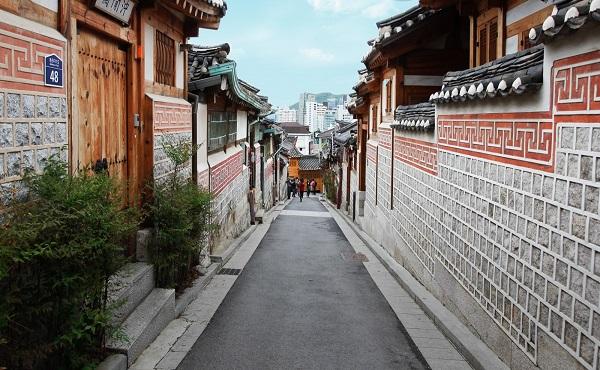 Khu làng cổ Bukchon Hanok
