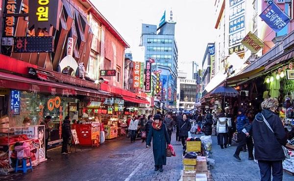Chợ Namdaemun và chợ Dongdaemun