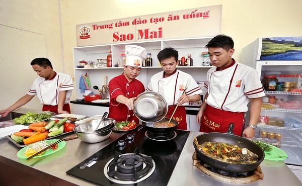 Trung tâm dạy nấu ăn Sao Mai