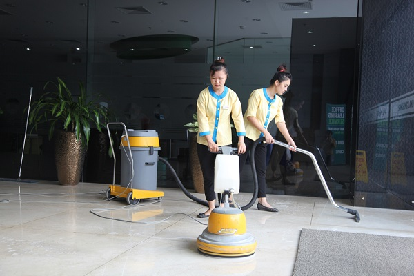Công ty vệ sinh công nghiệp Hành Tinh Xanh