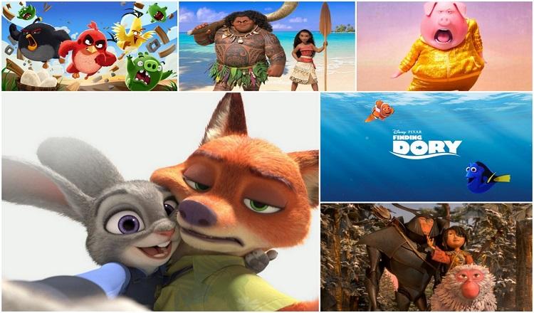 Top 10 bộ phim hoạt hình chiếu rạp hay nhất khiến bạn không thể rời mắt