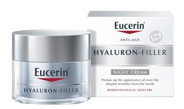 Kem Eucerin Hyaluron giúp da mềm mịn