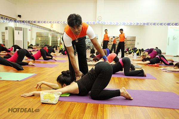 Bài tập cơ bản tại Shubha Yoga