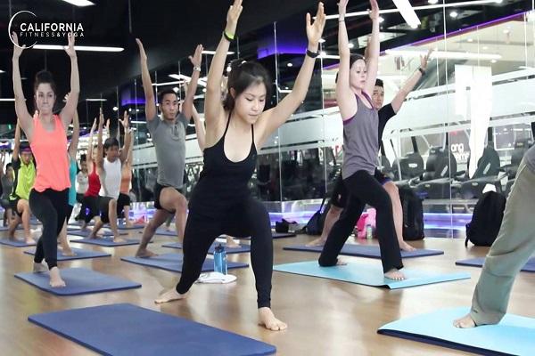 Trung tâm thể dục thể hình Fiteness & Yaga California