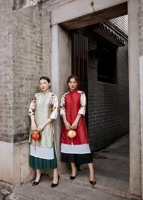 shop áo dài cách tân đẹp ở thành phố HCM