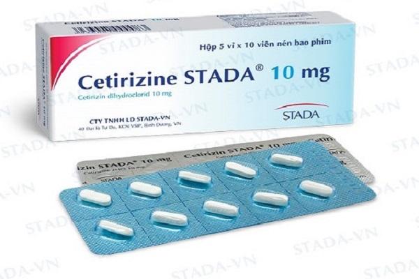 các loại thuốc chống dị ứng