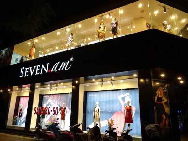 Seven AM có thiết kế theo xu hướng, sang trọng và quyến rũ