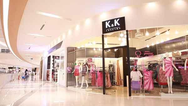 K&K Fashion có thiết kế tinh tế và nhẹ nhàng
