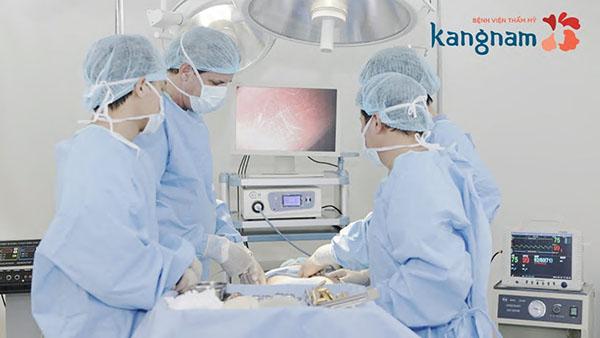 Nâng cơ ngực tại thẩm mỹ viện Kang Nam tphcm