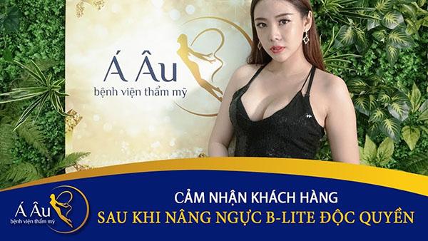 Thẩm mỹ viện Á Âu Hà Nội là địa chỉ nâng ngực uy tín tại Hà Nội