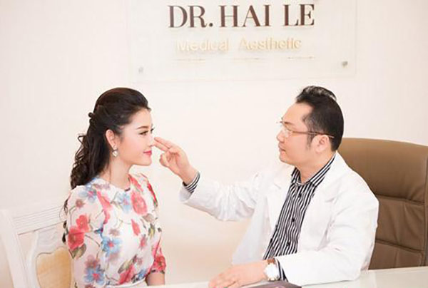 Nâng mũi tại thẩm mỹ viện Dr Hải Lê Hà nội