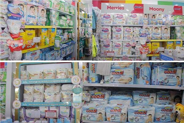 Sản phẩm cho bé tại shop Baby Quốc tế