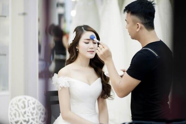 tiệm trang điểm cô dâu đpẹ nhất sài gòn
