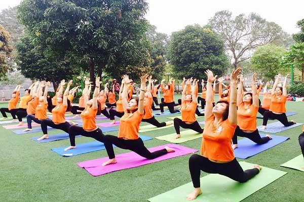 nơi dạy tập yoga tốt nhất ở Hà Nội